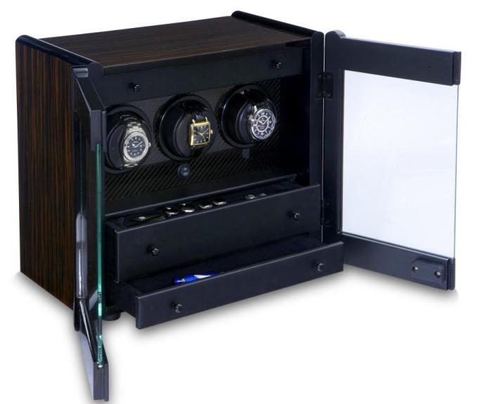 дизайн бокса для хранения и завода  часов сразу Avanti 3