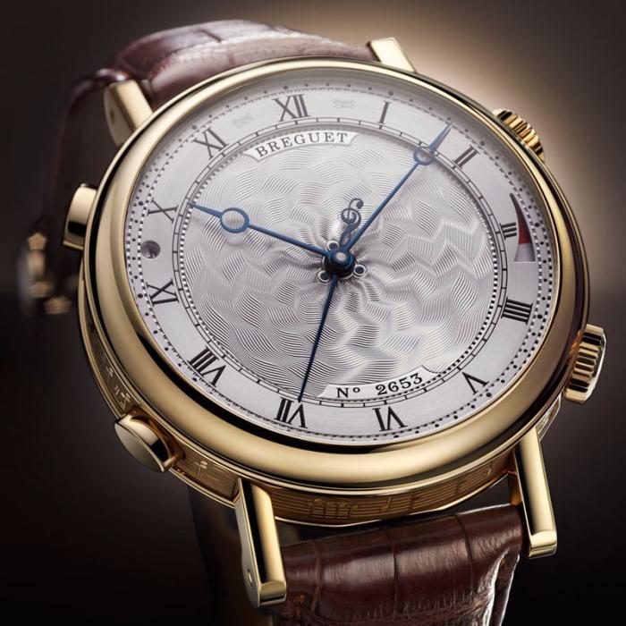 новое произведение высокого часового искусства от компании Breguet