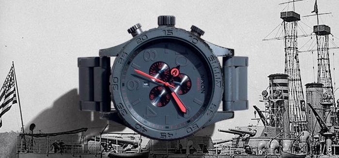 Коллекция часов Nixon Gunship