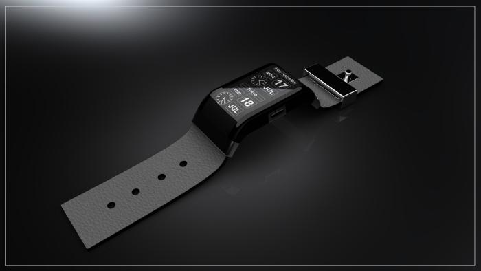 Дизайн циферблата можно загрузить в часы через порт микро USB