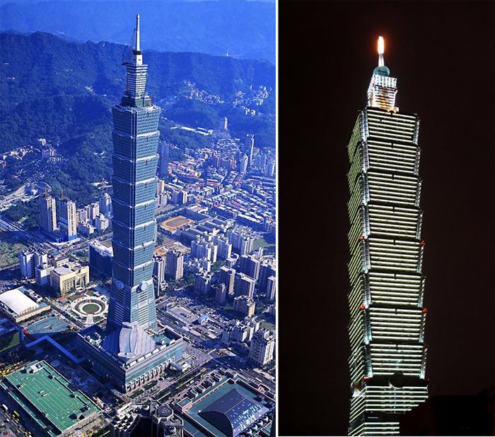 небоскреб Тайбэй 101
