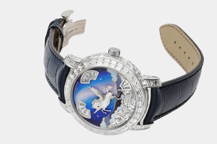 Компания Vacheron Constantin отметила 5-летний юбилей своего московского бутика показом уникальных часов из коллекции Métiers d'Art