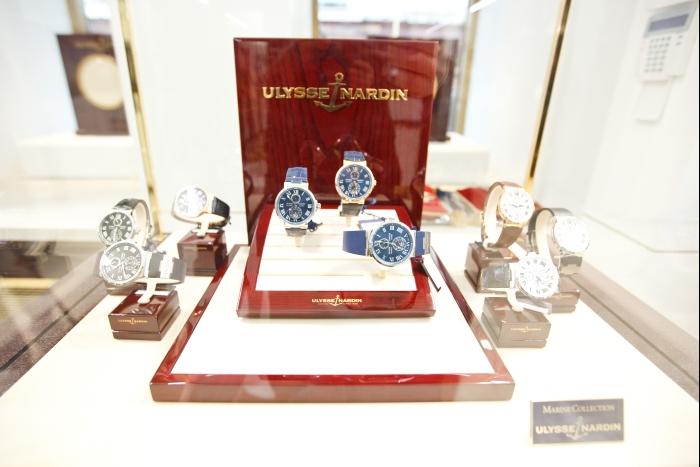 Монобрендовый часовой бутик легендарной мануфактуры Ulysse Nardin расположился неподалеку от Кремля и Красной площади