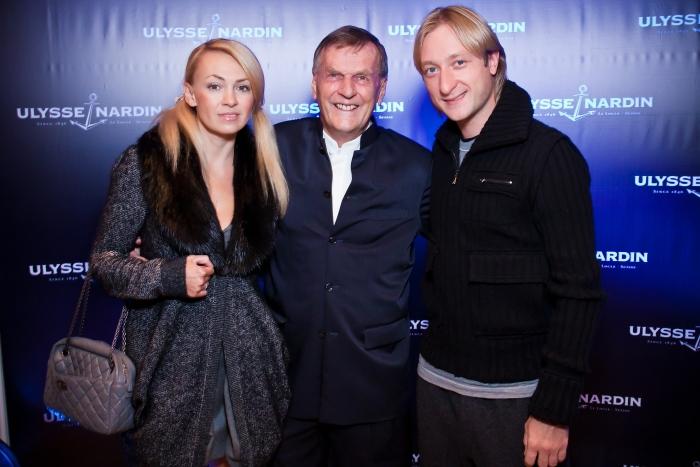 открытие бутика Улисс Нардан в Москве