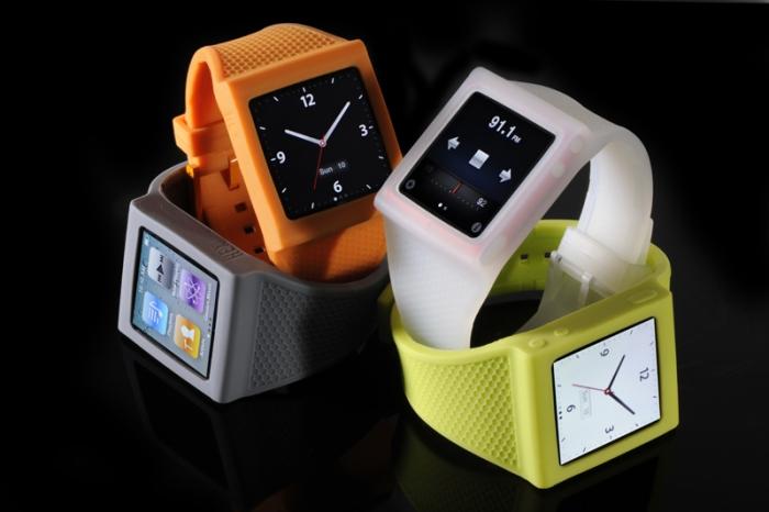 Часы из iPod Nano
