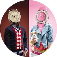 Человеко-часы Louis Pion