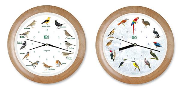 Немецкие часы KooKoo поют голосами птиц
