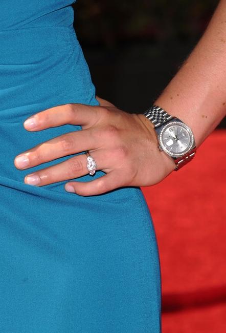 Линдси Вонн носит часы Rolex Datejust 36 мм