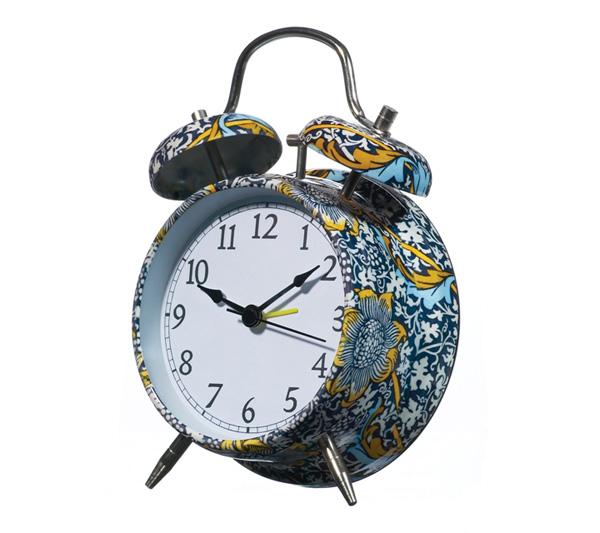 классический английский будильник Kennet by Wild&Wolf из коллекции британского музея Виктории и Альберта