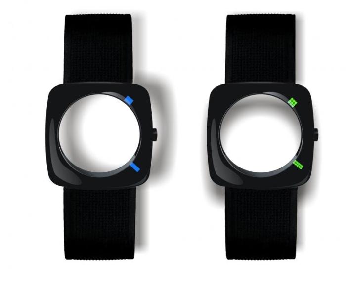 Радикальные часы без экрана