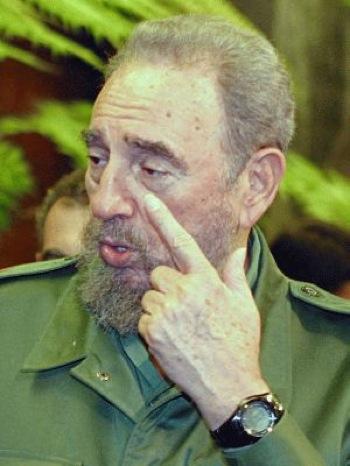 Фидель Кастро уже без Ролекс