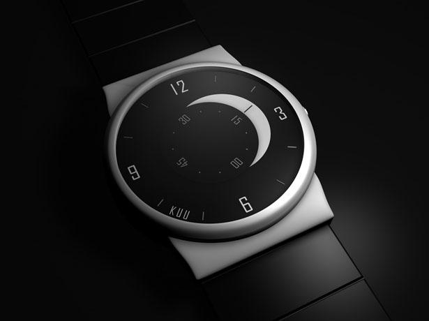 аналоговые часы KUU