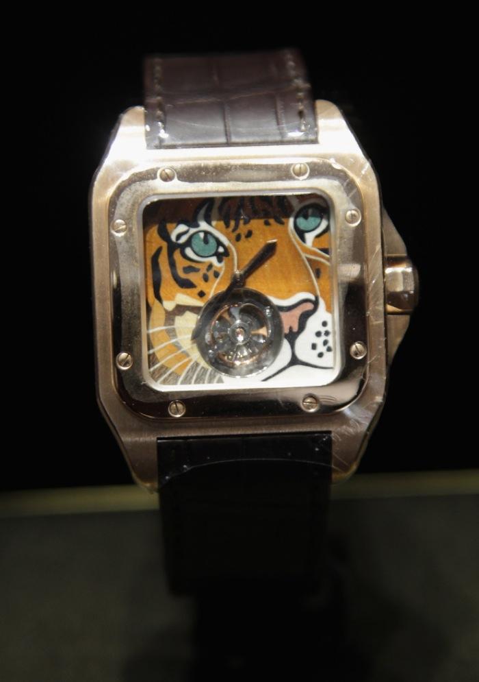 Cartier Santos 100, Tiger