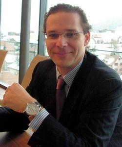 Александр Шмидт (Alexander Schmiedt), директор часового подразделения Montblanc