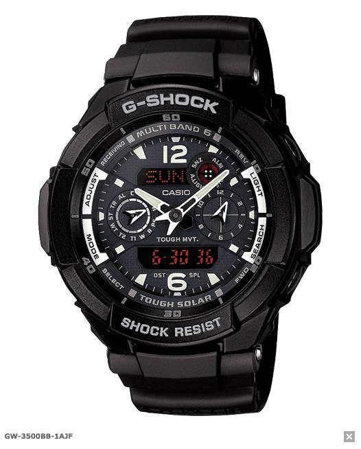 G-Shock в феврале