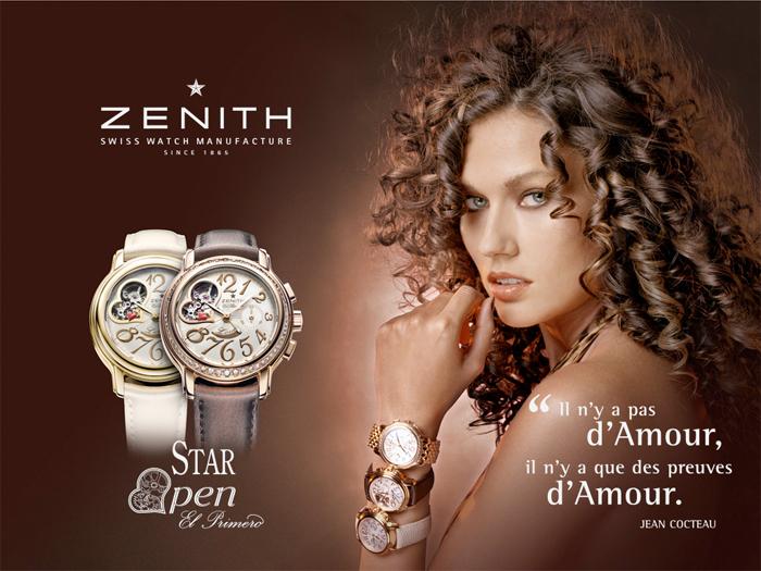 Zenith Chronomaster Star Open Love