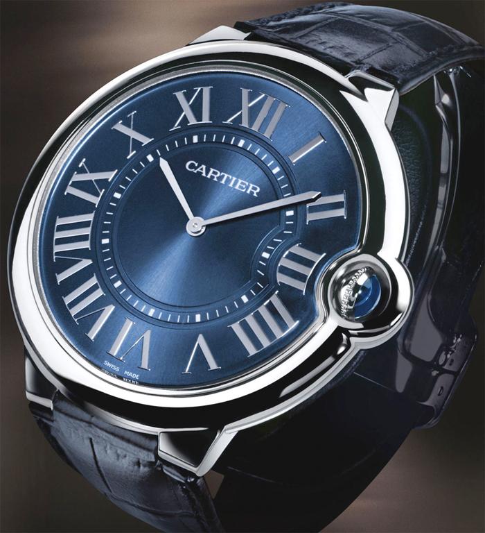 Cartier Extra-flat Ballon Bleu