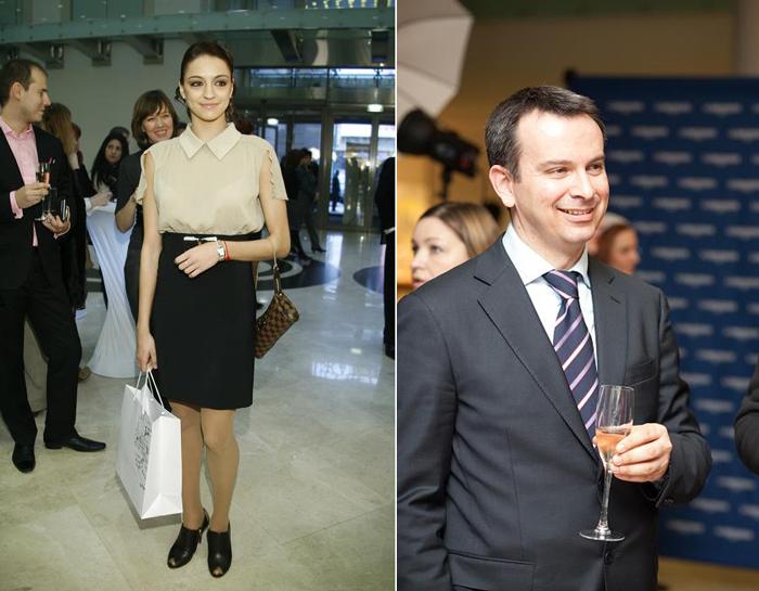 Евгения Канаева Презентация новых моделей коллекции Longines Dolce Vita в Москве
