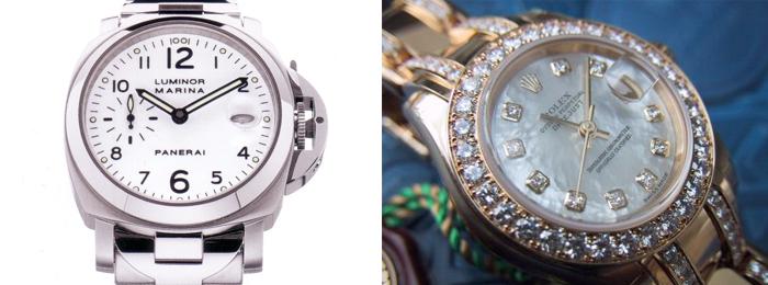 Rolex против Panerai
