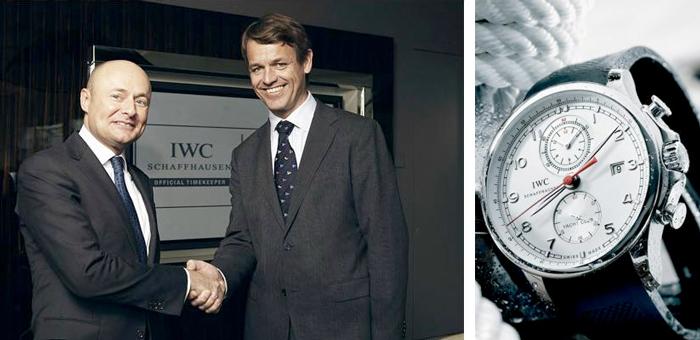 IWC Schaffhausen стала хронометристом Volvo Ocean Race