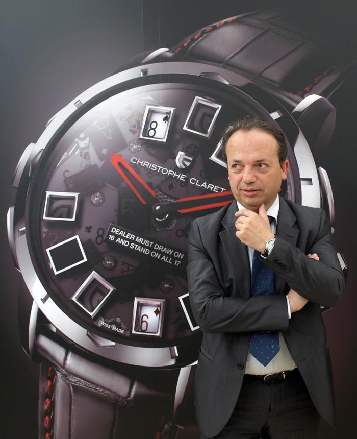 часовщик Кристоф Кларе (Christophe Claret)