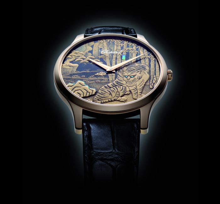 наследие  японского искусства и мастерство щвейцарских часовщиков