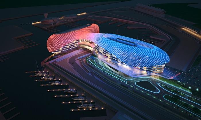 Yas Marina Circuit — один из самых современных и технологически развитых спортивных комплексов для автогонок на сегодняшний день