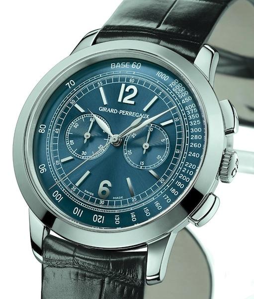 GIRARD-PERREGAUX - 1966 Blue Dial Chronograph