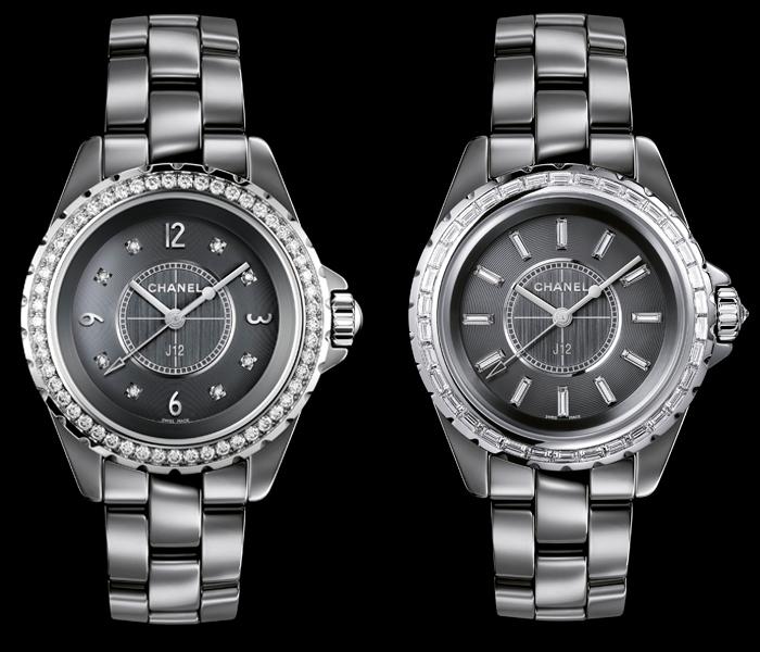 Chanel J12 Chromatic с бриллиантами