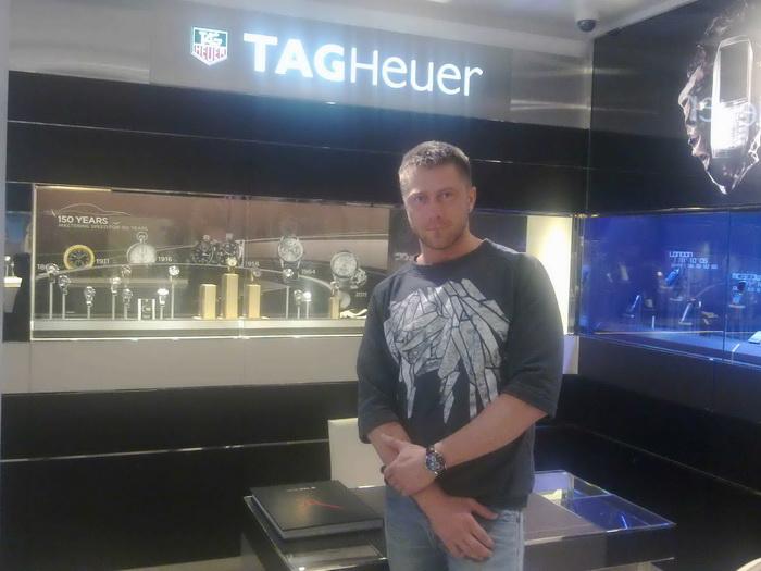 TAG Heuer в Санкт-Петербурге