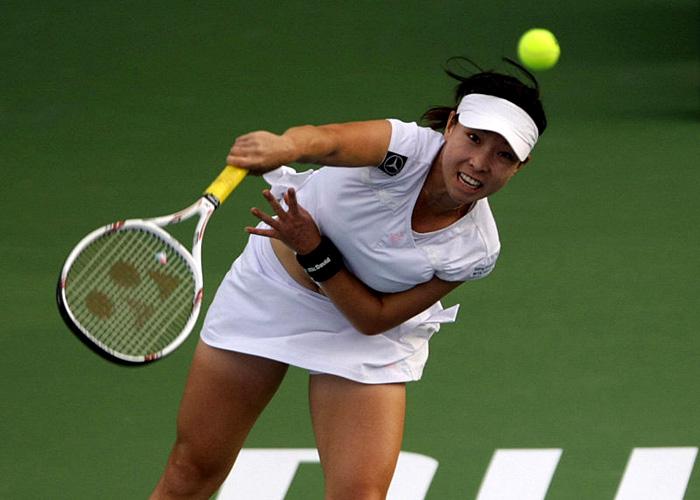 китайские теннисистки