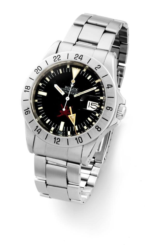 Rolex Oyster Perpetual Date Explorer II Spade of Oman