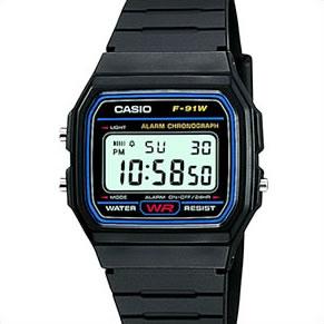Ставшие классикой электронные часы Casio с будильником и стильной подсветкой