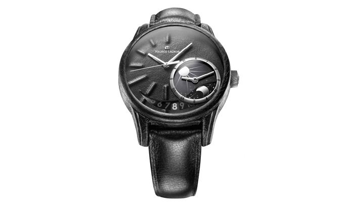Нейл Баррет (Neil Barrett) сделал кожаные часы из Pontos Décentrique GMT