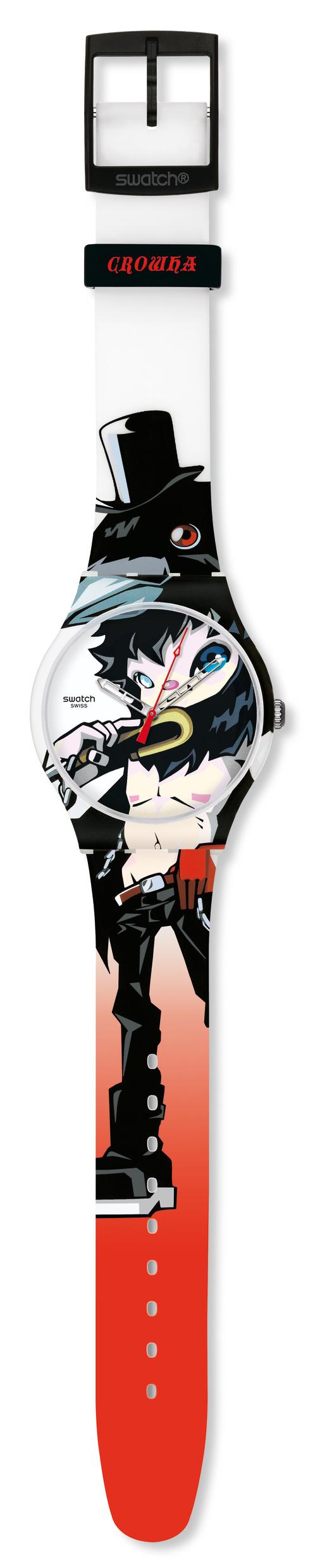swatch x Hiroyuki Matsuura