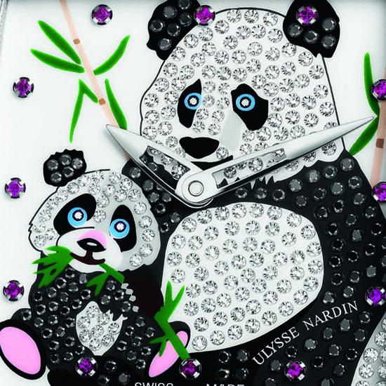 Ulysse Nardin Ladies Caprice Panda