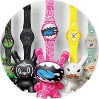 Swatch и Kidrobot