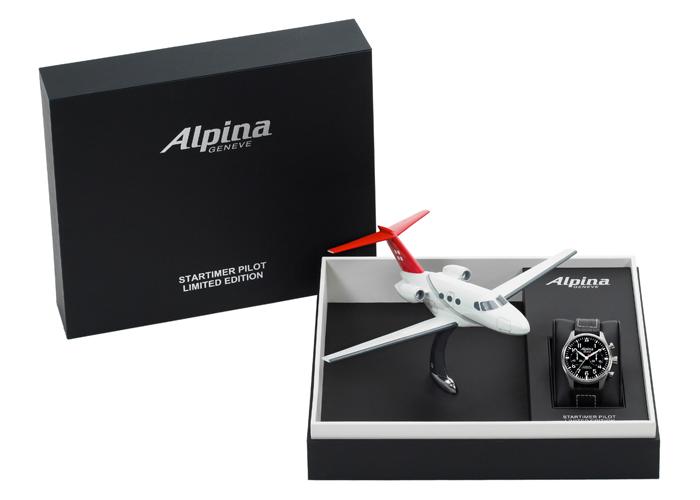 авиационные часы Alpina Startimer Pilot