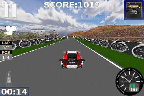 Alpina  iPad/iPhone Racing App