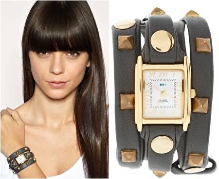 Мода на часы с длинными ремешками появилась несколько сезонов назад
