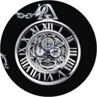 Cartier Skeleton Pocket Watch Grande Complication