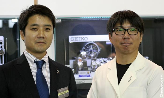 Казунори Хошино, Seiko