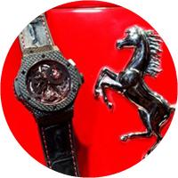 Hublot Big Bang Chrono Tourbillon Ferrari