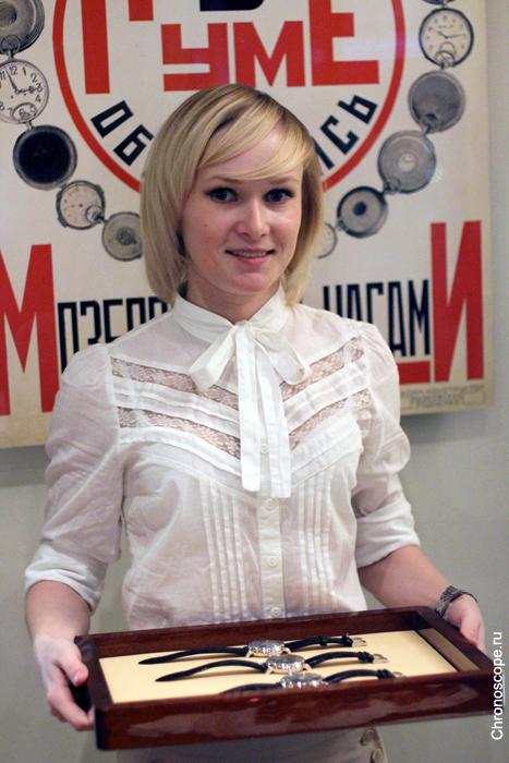 Трилогия времени Ulysse Nardin в Москве