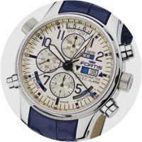 Fortis F-43 Chronograph Alarm GMT
