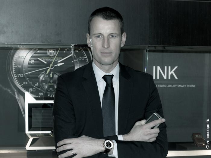 Вице-Президент TAG Heuer Патрик Пруньо (Patrick Pruniaux)