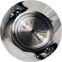 Angular Momentum Zirconium Timepiece