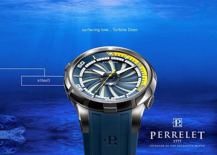 Perrelet Turbine Diver