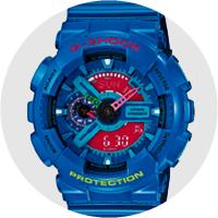 Эволюция Casio G-Shock