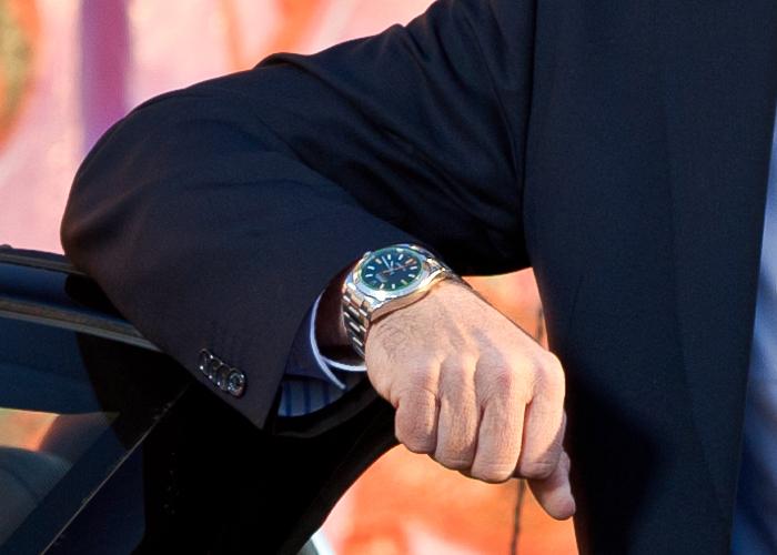 хорошо видно Rolex
